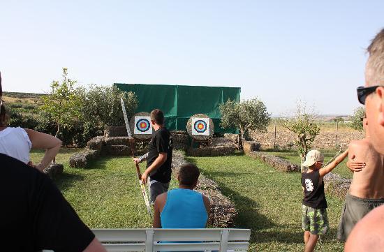 Costanza Beach Club: tiro con l'arco