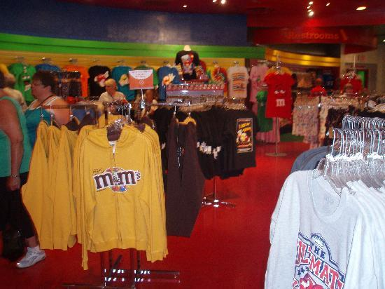 Boutique picture of m m 39 s world las vegas las vegas for World boutique