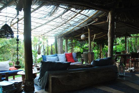 Art Lodge : Zona comun del lodge