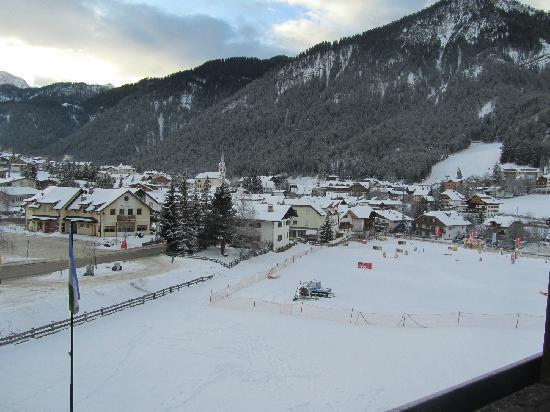 Hotel Condor: Panorama dal balcone