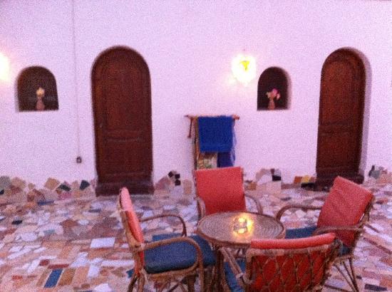 Ghazala Hotel: Innenhof