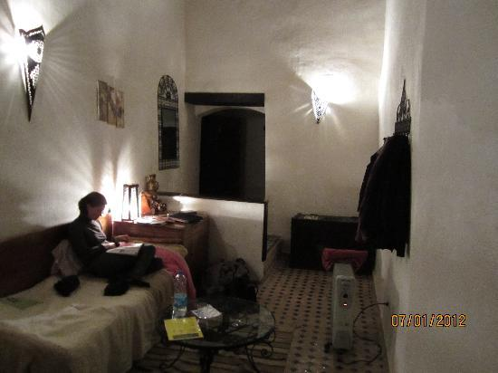 Riad Felloussia: room