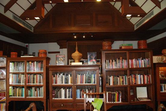 The Dhara Dhevi Chiang Mai: the library at Dhara Dhevi