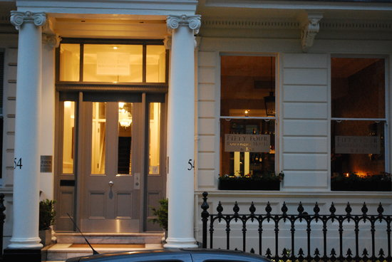 Facade picture of 54 boutique hotel london tripadvisor for New boutique hotels london