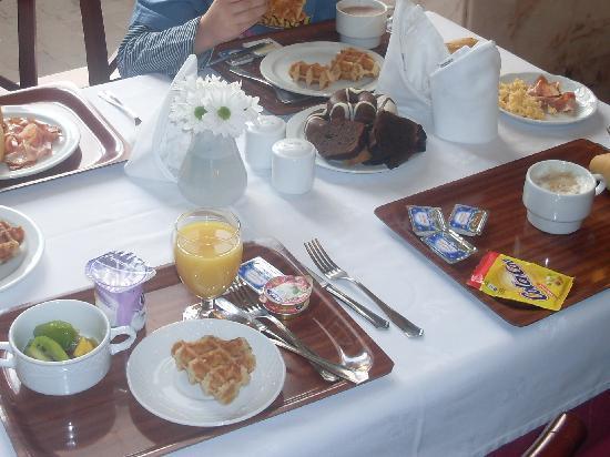 Hotel Principe Paz: desayuno muy bueno