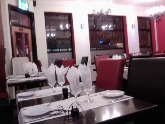 desi masala: 1st floor of restaurant
