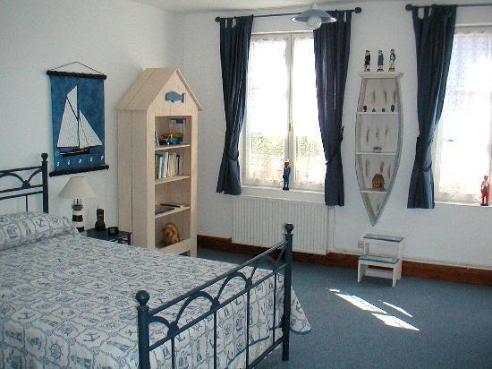 La Maison Bleue en Baie : La Chambre Bleue en Baie