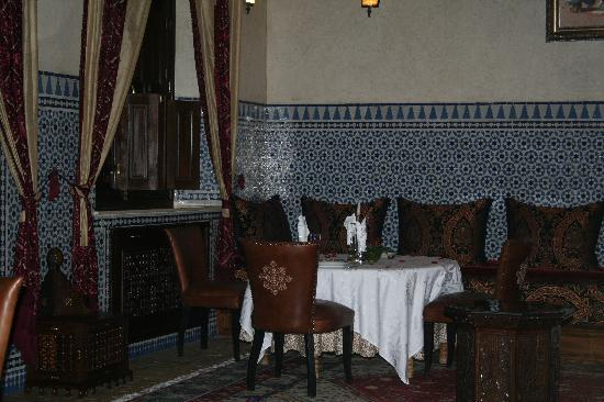 Riad Kniza: Authentic Moroccan dining