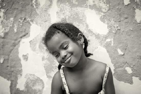 The Beautiful Eyes: Stone Town Girl