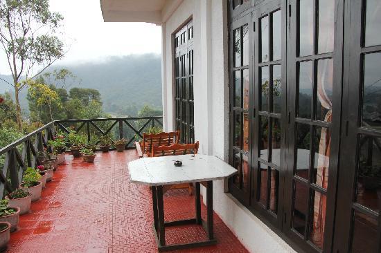 Chez Allen: balcony