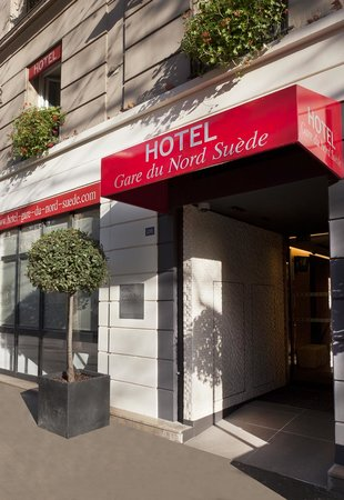 Libertel gare du nord suede paris france hotel for Decor hotel du nord