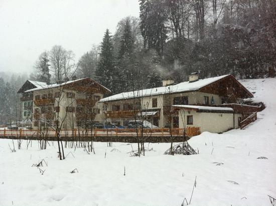Gästehaus Achental: Im Winter