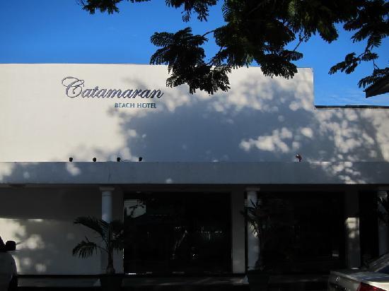 Catamaran Beach Hotel: A promising entrance