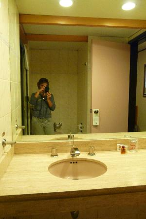 Hotel Catedral: Il bagno