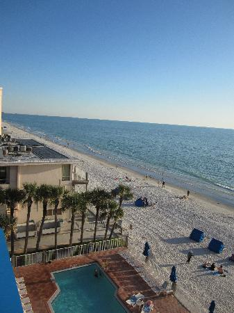 Doubletree Beach Resort by Hilton Tampa Bay / North Redington Beach: Balcony's view