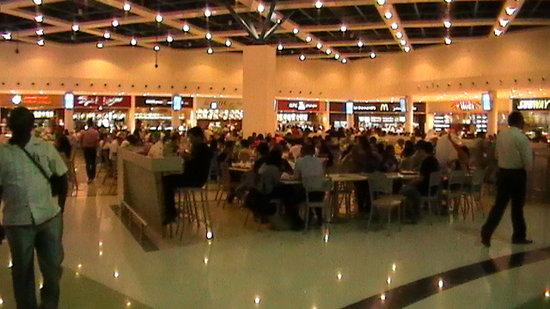 Deira City Center Shopping Mall: the food court
