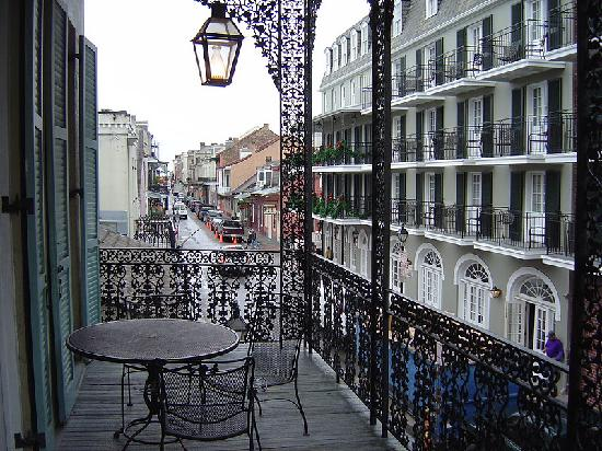 Hotel St. Marie: view from porch