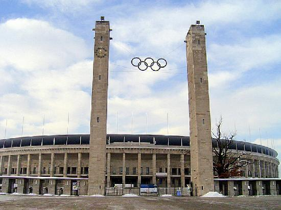 Berlin, Jerman: olimpic stadium