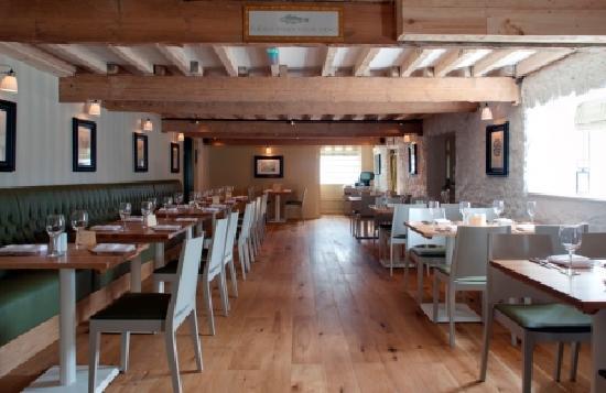 The Mendip Inn : Dining area