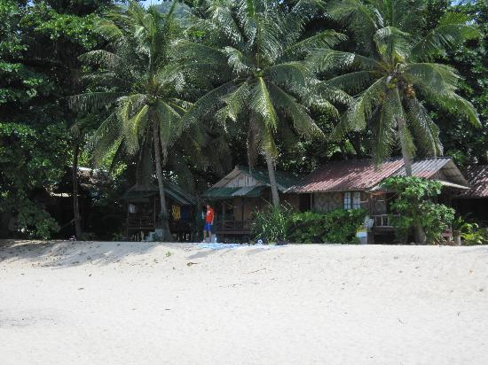 Hat Sadet Beach: Дешевые бунгало (250 бат/сут)