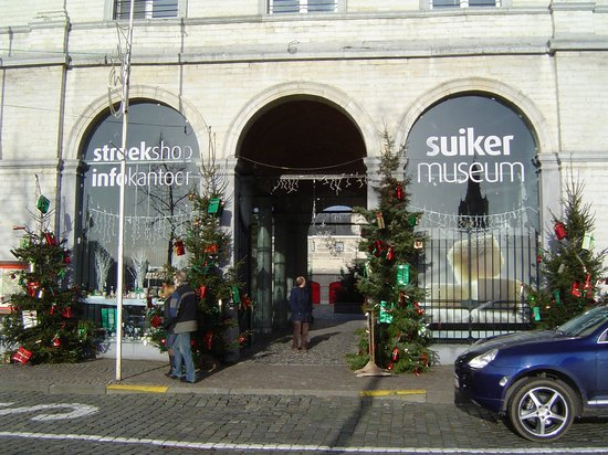 Tienen, Бельгия: Entrance to the Sugar Museum