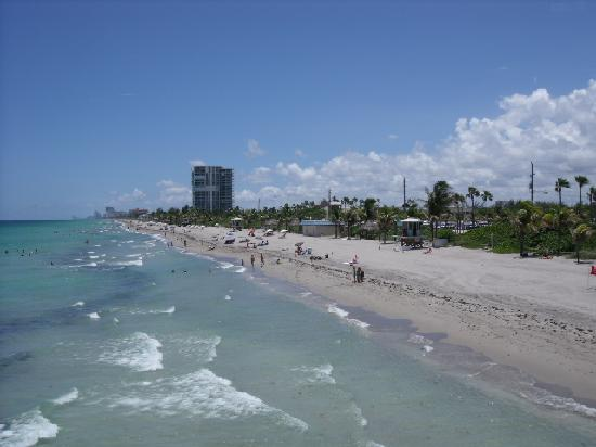 Motel 6 Dania Beach: Dania/hollywood  Beach from the pier