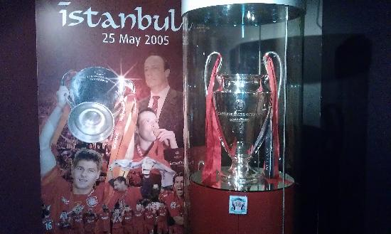Anfield Stadium: Champiosn League