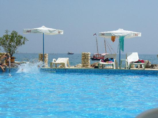 Regina Maria Spa Design Hotel: hotel plus morze