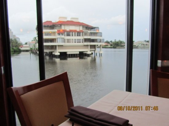 M Waterfront Grille: The view from our table