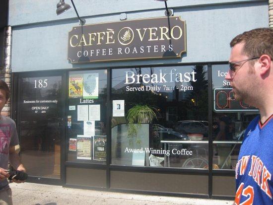 Caffe Vero: storefront