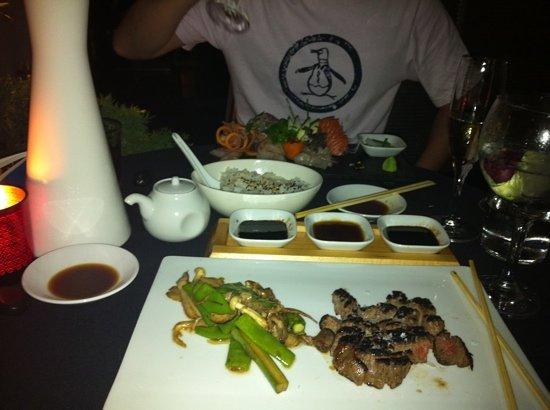 Tahini Sushi Bar & Restaurant : main course