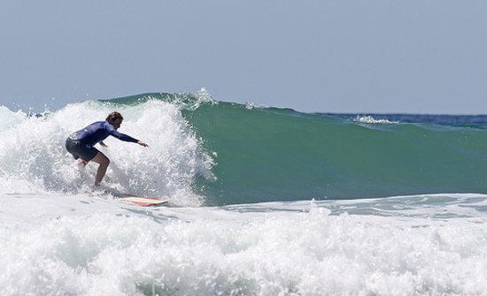 Santa Teresa, Kosta Rika: Big waves