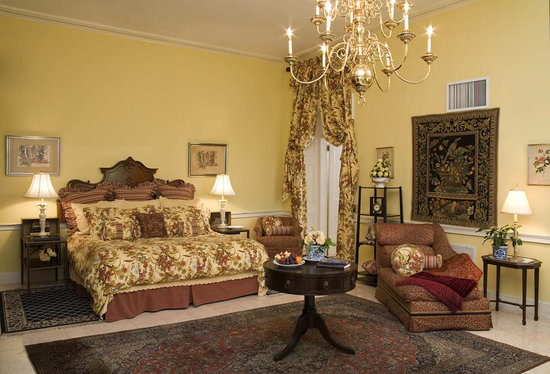 One of the Suites at Graycliff Hotel