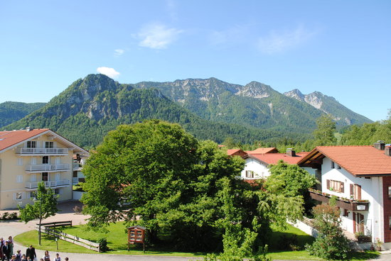 Gasthof Kienberg: view from our room