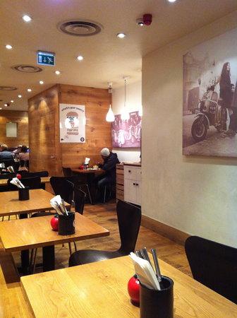 Gourmet Burger Kitchen: GBK Covent Garden