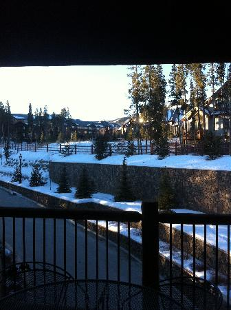 BlueSky Breckenridge: view from balcony