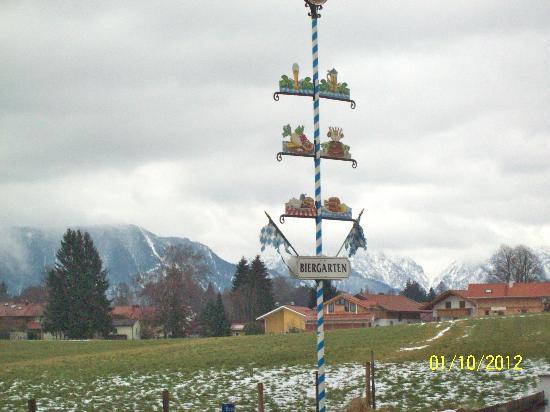Gasthof zum Stern: January may NOT be Biergarten weather!!!