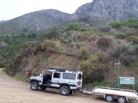 Adventure-Spain.com: The Safari and trailer