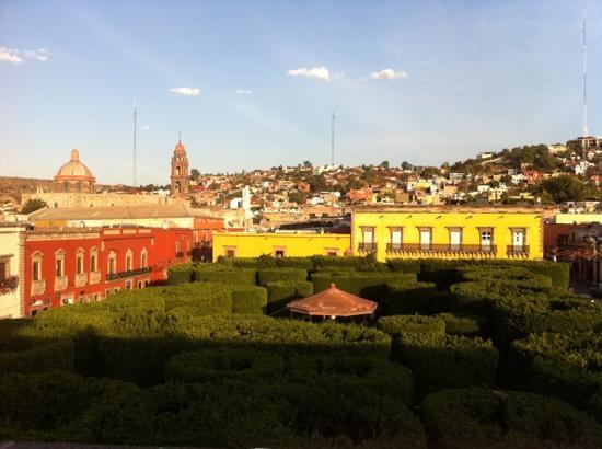 Hotel del Portal San Miguel: otra vista desde la terraza