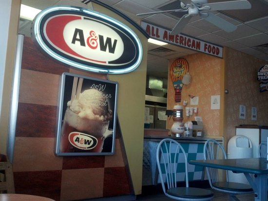 A&W Restaurant: A Welcoming Sign