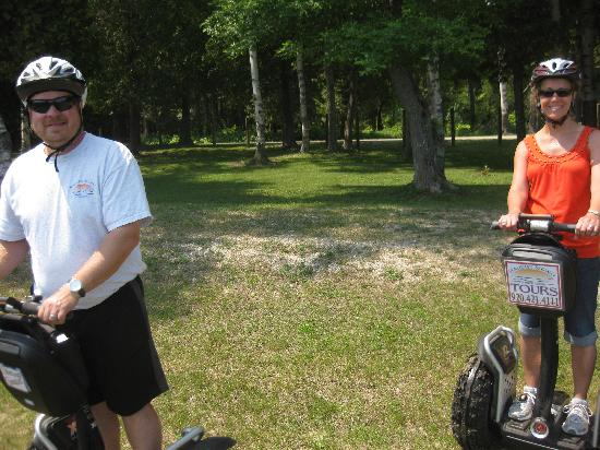 Seaquist Tours Off-Road Segway Adventures : Us on the segways