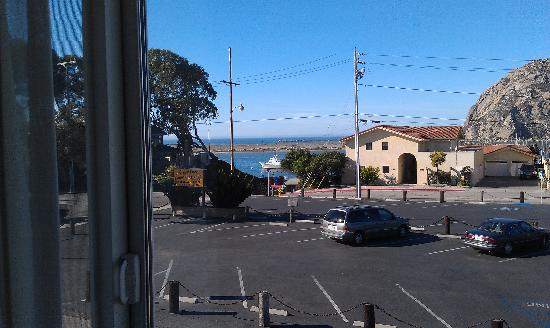 BEST WESTERN Tradewinds: Scenery from my room 208