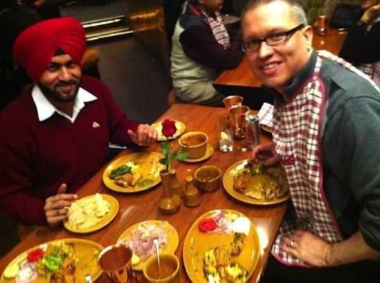 Great food at Bukhara