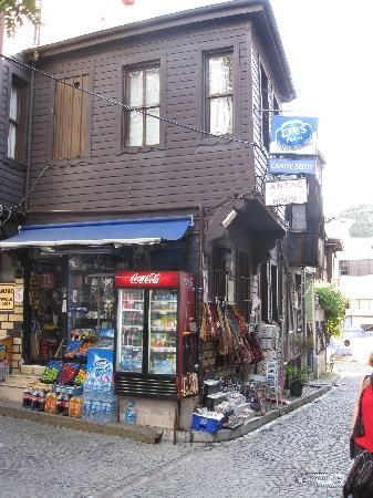 Naz Wooden House Inn: The local shop