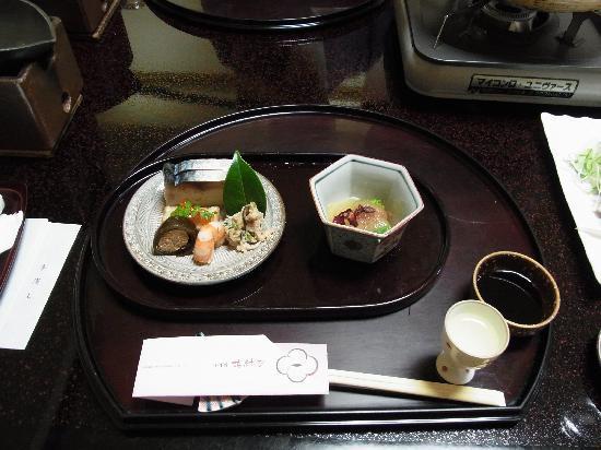 Miyukiso Hanamusubi: 夕食の一部