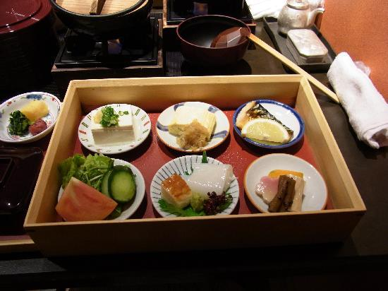 Miyukiso Hanamusubi: 朝食の一部