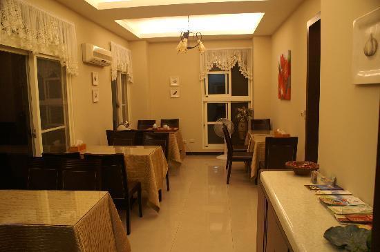 Yueyaquan B&B: Dining room
