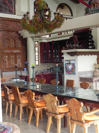 Ammazulu African Palace: Where you will enjoy breakfast