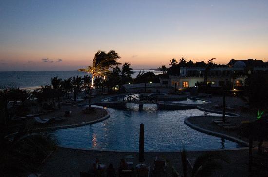 Clubviaggi Resort Twiga Beach & SPA: Tramonto