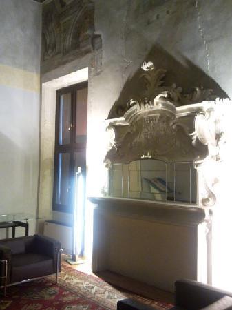 Palazzo di Ludovico il Moro (Palazzo Costabili): particolare di una sala